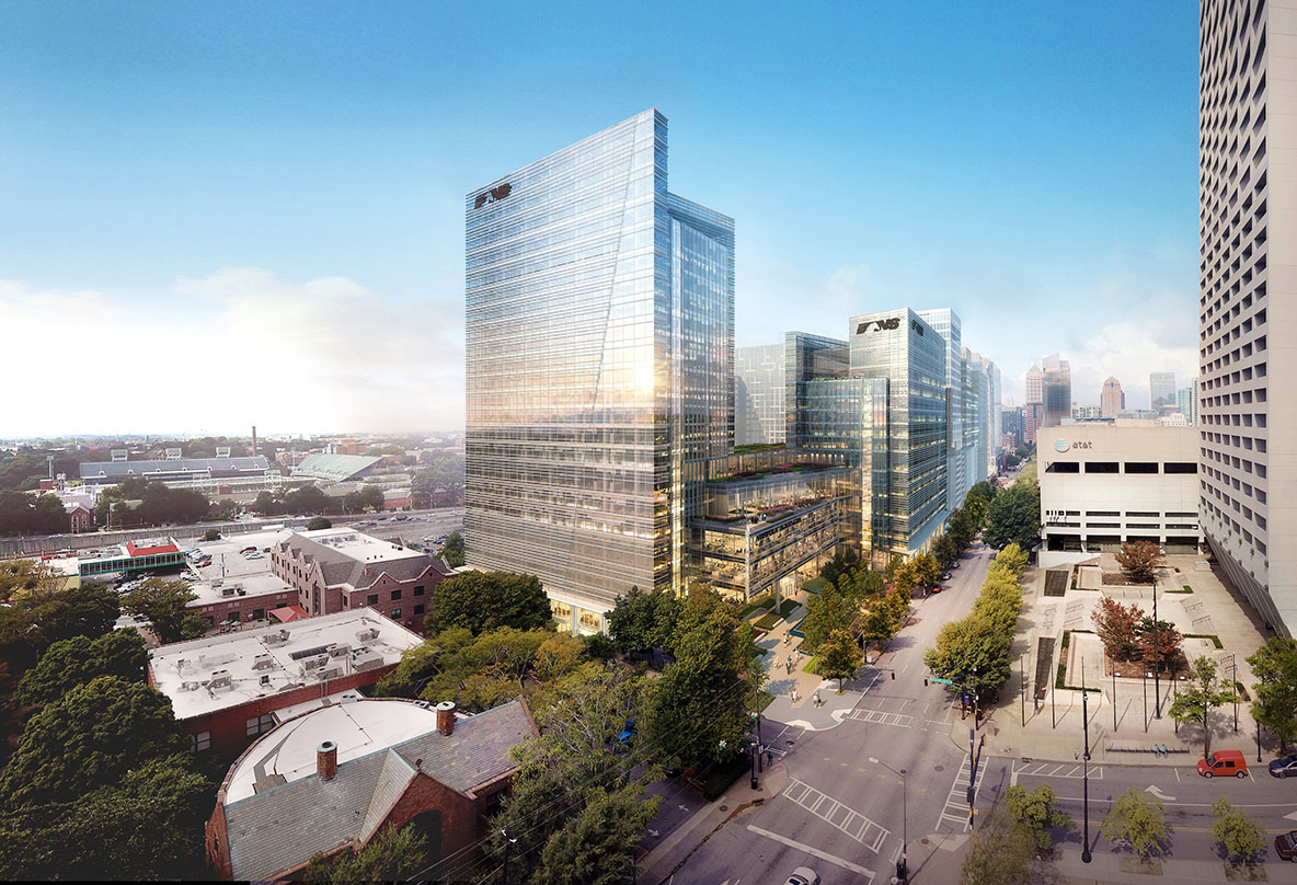 Pickard Chilton's Architectural design of Norfolk Southern's stunning midtown campus