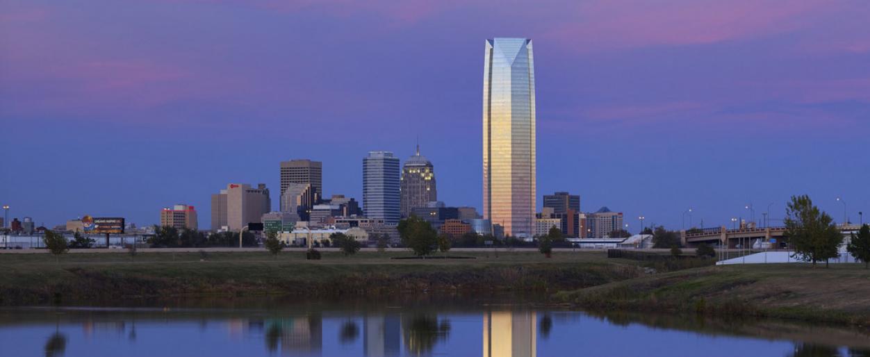 Devon Energy Center in Oklahoma City, Oklahoma
