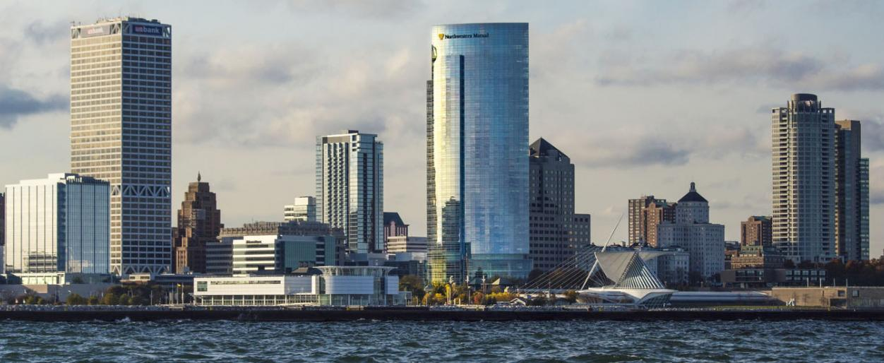 Northwestern Mutual Tower in Milwaukee, Wisconsin