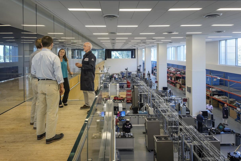 ExxonMobil Upstream Research Laboratory in Houston, Texas